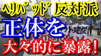 ヘリパッド反対派の正体を大々的に発表.jpg